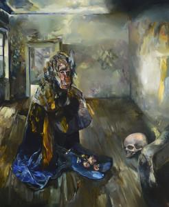 Princezna, oil on acanvas 170 x 140 cm, 2013