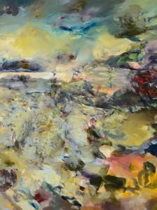 VELKÉ REQUIEM / GREAT REQUIEM / 2013 / olej, plátno / oil, canvas / 200x150 cm