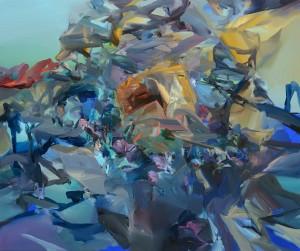 NEDOTKNUTELNÉ / UN TOUCHABLE / 2014 / olej, plátno / oil, canvas / 100x120 cm