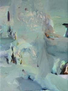 V DEŠTI / IN THE RAIN / 2014 / olej, plátno / oil, canvas / 80x60 cm