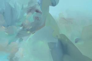 VÝŠINA / THE HEIGHT / 2014 / olej, plátno / oil, canvas / 60x90 cm